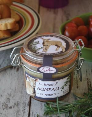 Terrine de Taureau, olives, fenouil, sarriette, laurier