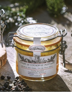 Terrine de Cerf au foie gras d'Oie et Pinot noir